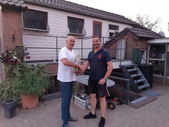 Geert Tiemes uit Didam wint in 2019 de Toppigeons SuperCup bij Marathon Noord.