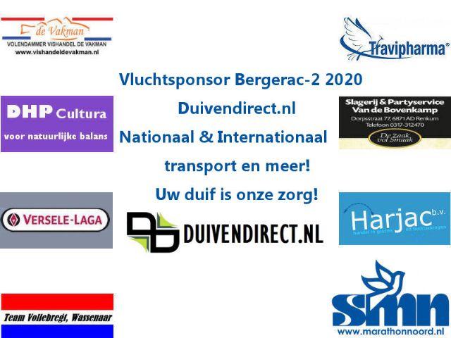 Winnaars Prijzenpakket Bergerac 2 2020