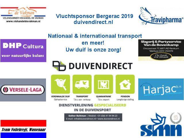 Prijzenpakket Bergerac 2019