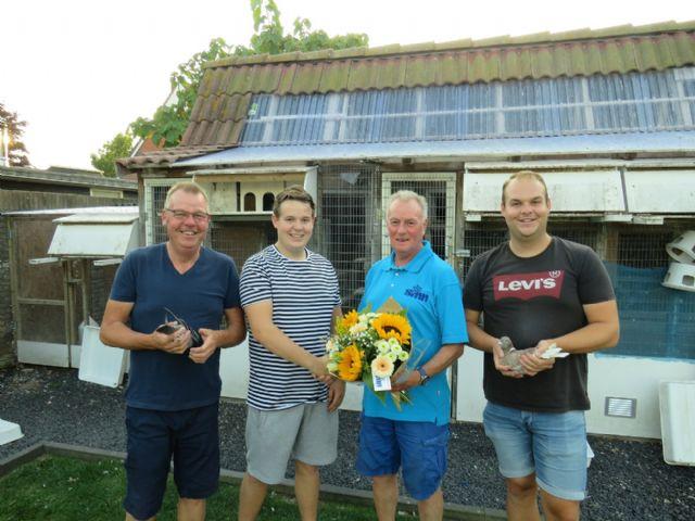 kampioenen Middaglossing 2019  Comb. Jan Hommes en Zonen uit Akersloot