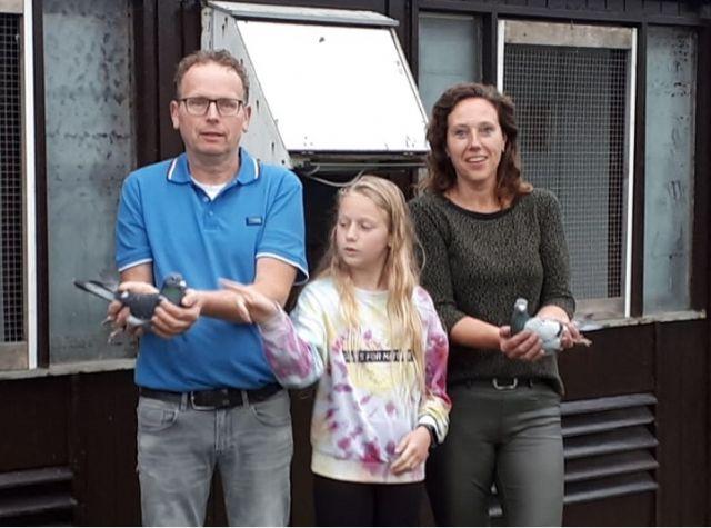 S. van der Hulst-Wiranda Voorhout winnaars Travipharma Criterium der Azen (middaglossing)