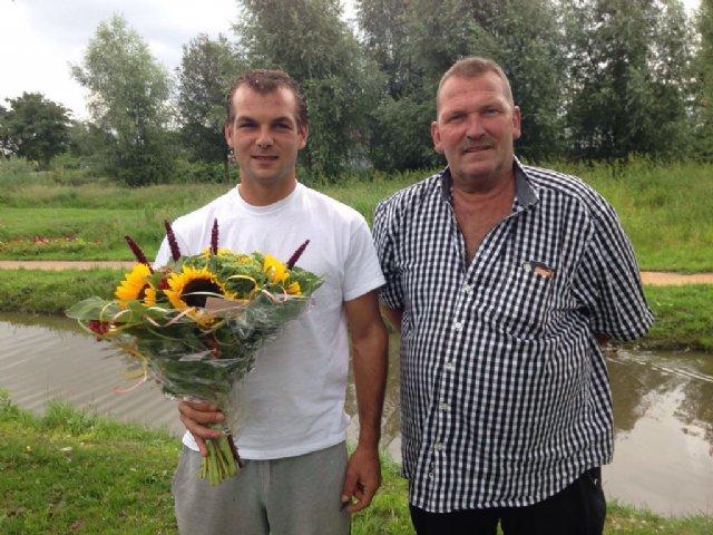 Jay Lissenberg, Utrecht, wint Cahors in de competitie van de Marathon Noord