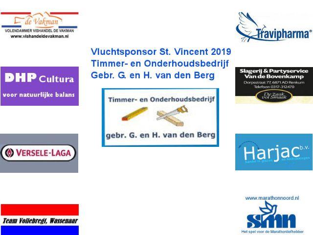 Uitslag St.Vincent 2019 en winnaars prijzenpakket
