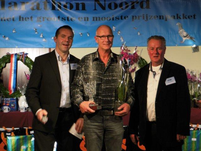 De Supercup (sponsor: Top Pigeons veilinghuis) werd gewonnen door J ...